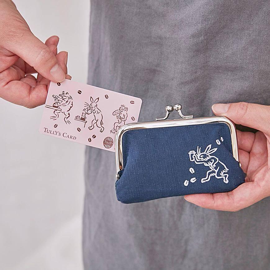 鳥獣戯画タリーズカード&がま口 カードケースセット