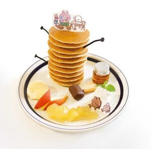 カナヘイピスケのスペシャルタワーパンケーキ