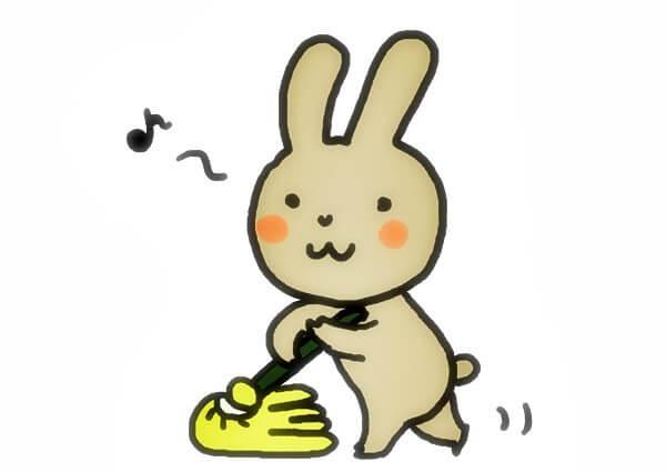 うさぎケージの掃除頻度と便利グッズ