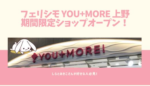 【期間限定ショップ】YOU+MORE!(ユーモア)上野店でうさぎ雑貨をゲット!